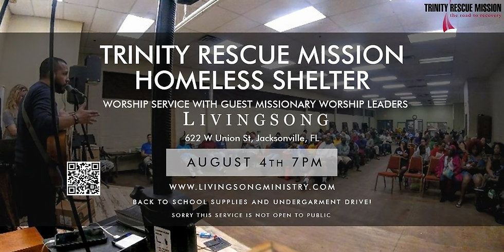Trinity Rescue Mission Homeless Shelter