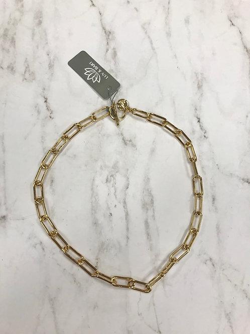 Gold Link Choker