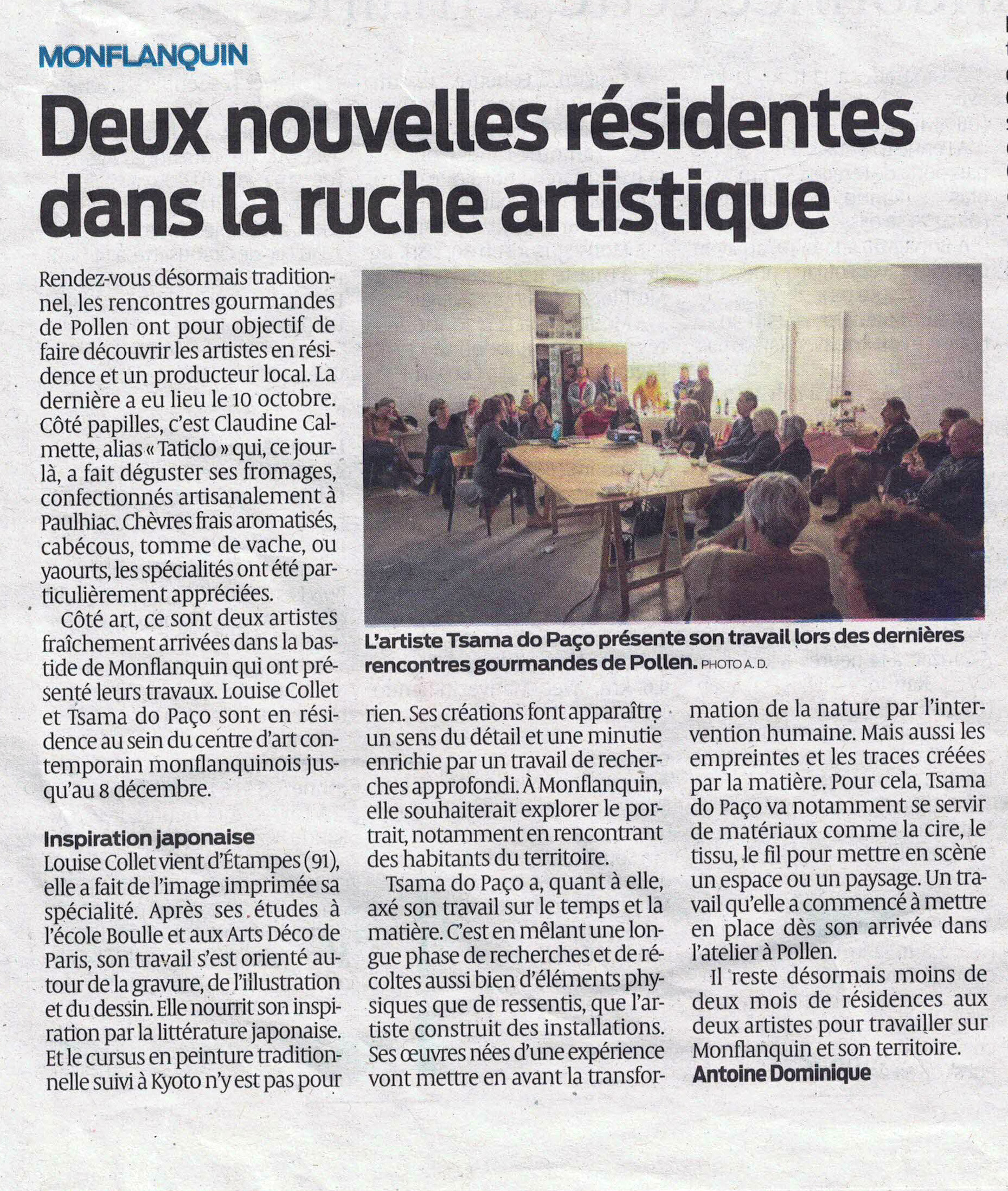 SUD-OUEST, 10/2019