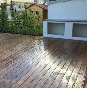 Umbau Terrasse