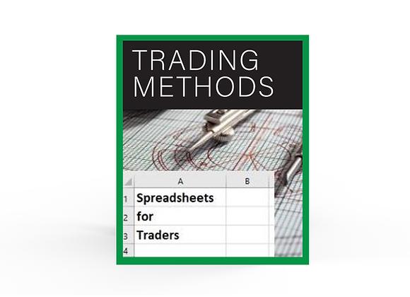 Spreadsheet Pack - Trading Methods