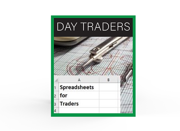 Spreadsheet Pack - Day Traders