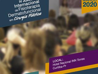 4 Jornada Internacional de Fisioterapia Dermatofuncional em Cirurgia Plástica