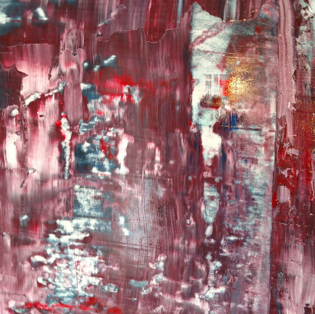 SOLD | Red Abstract I