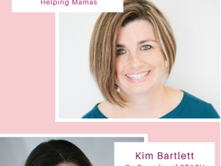 Helping Mamas 'Moms Helping Moms' Instagram Live with Kim Bartlett