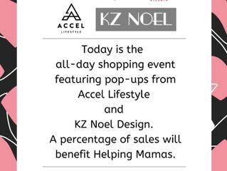 Helping Mamas Day of Shopping at Tootsies