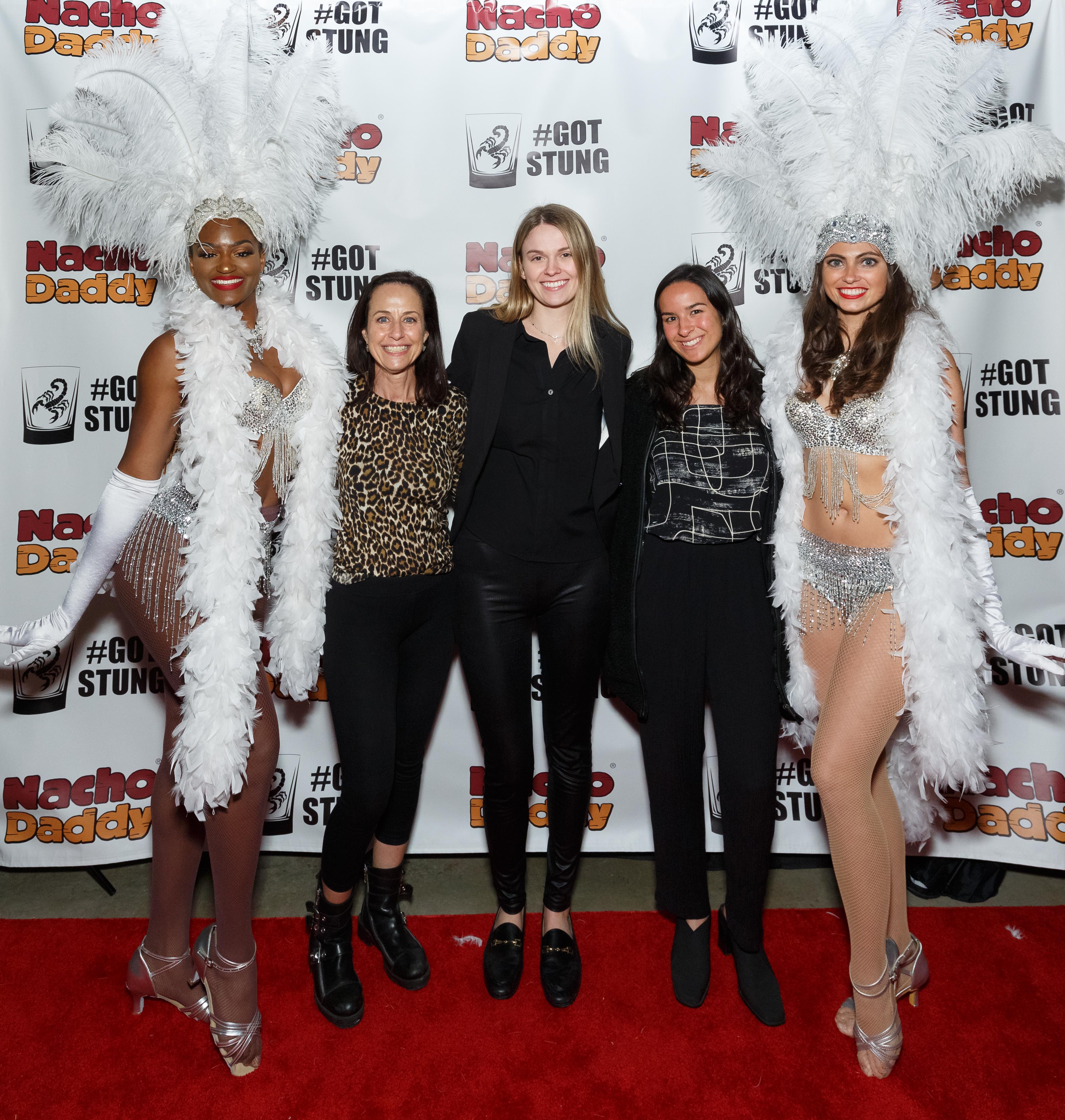 LLPR team showgirls
