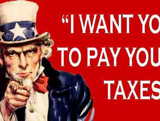 Nothing Can Be Certain Except Death & Taxes
