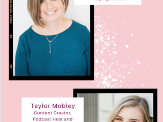 'Moms Helping Moms' Instagram Live with Taylor Mobley