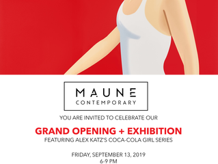 MAUNE CONTEMPORARY GRAND OPENING + EXHIBITION