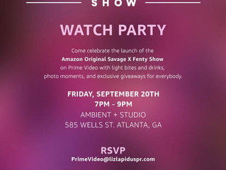 Amazon Original Savage X Fenty Show