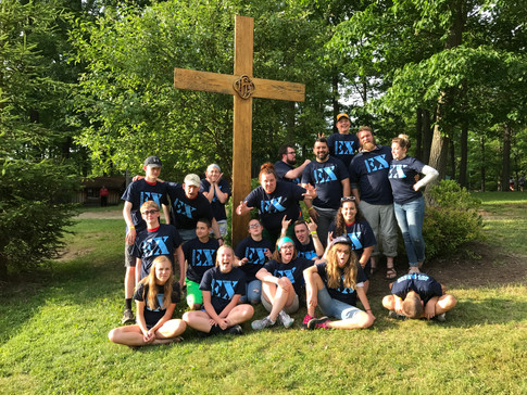 Three youth groups united for an awesome week!