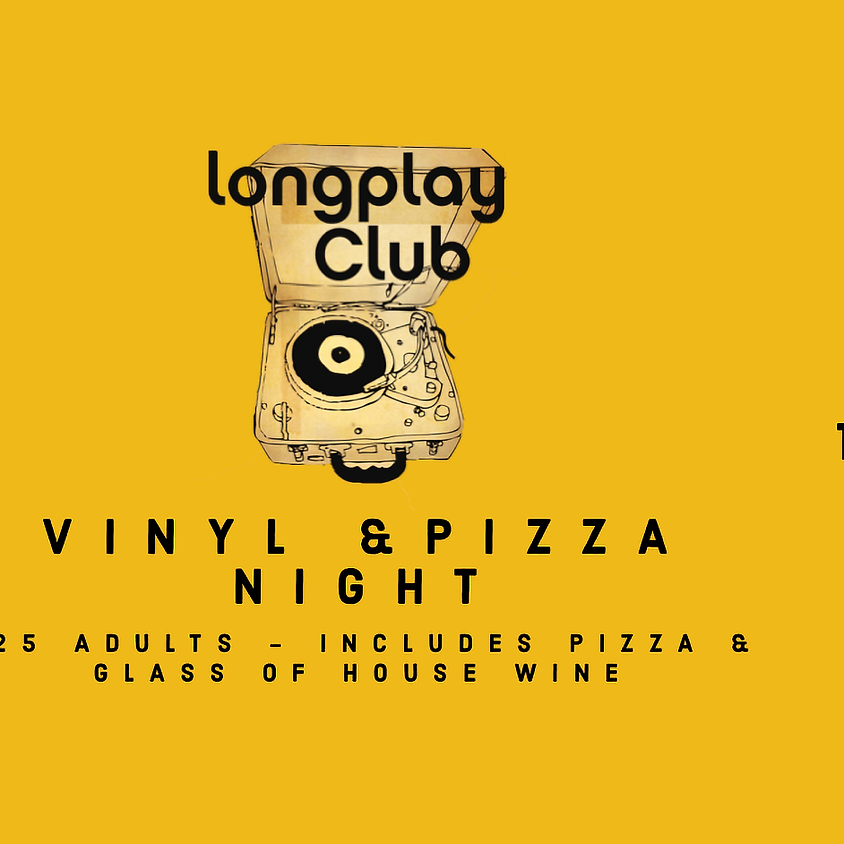 Vinyl & Pizza Night