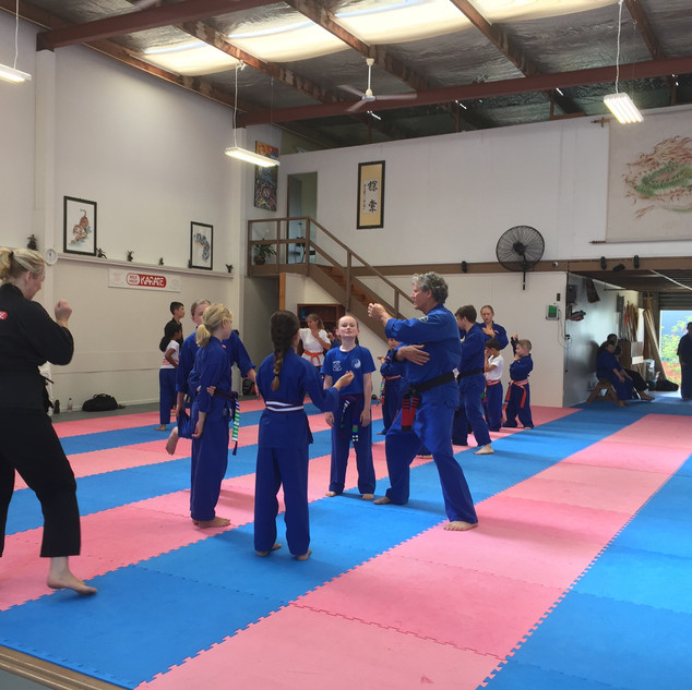 Yellow To Purple Belts Class