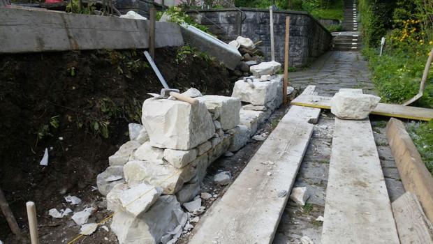 Trockenmauer Winterthur Rosenberg