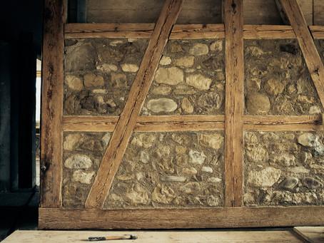 Riegelausfachungen ausmauern, Henggart