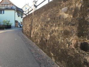 Stützmauer Strehlgasse Andelfingen