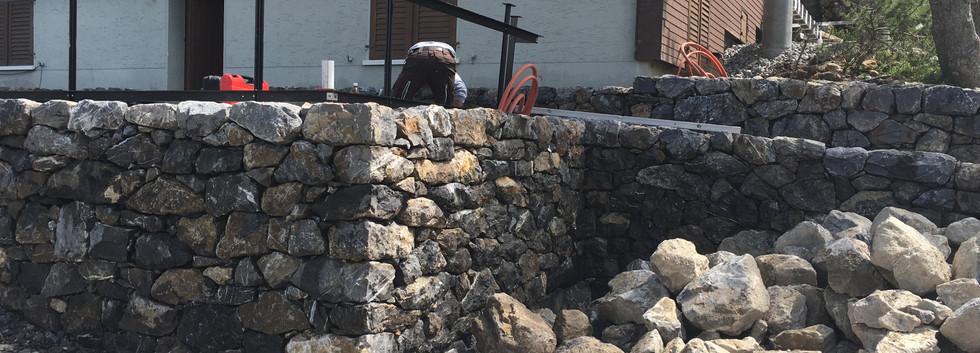 Trockenmauer Wildhaus