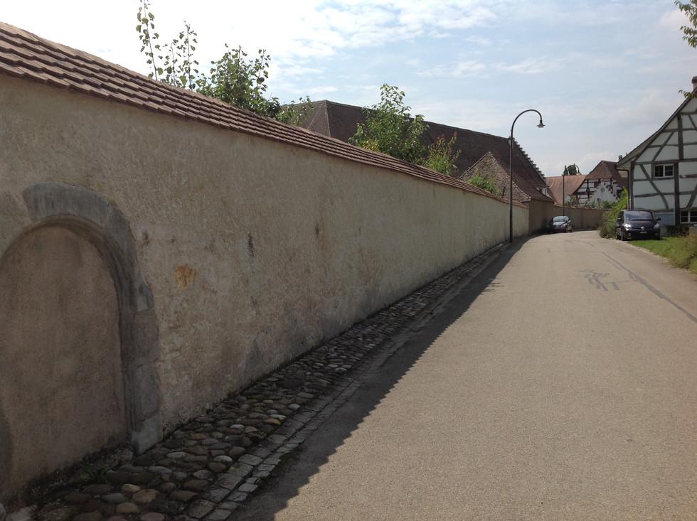 Klostermauern Rheinau