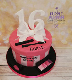 Victorias secret themed cake