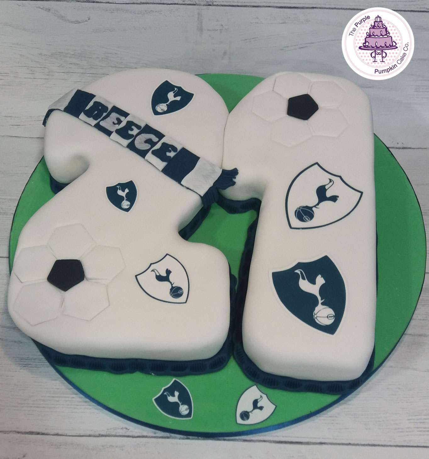 spurs 21 cake