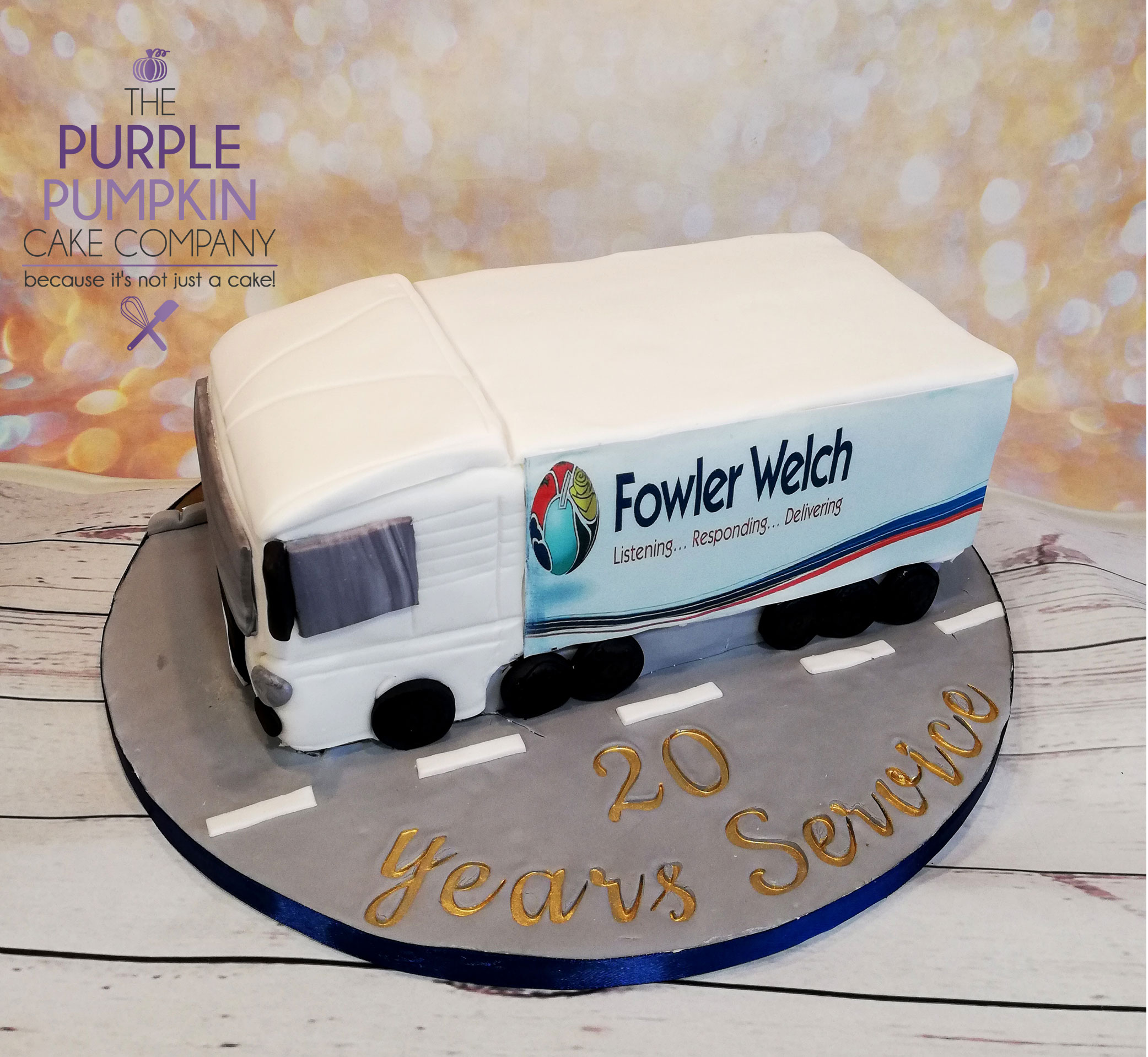 Fowler Welch truck cake