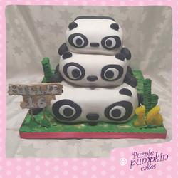 Pile up pandas