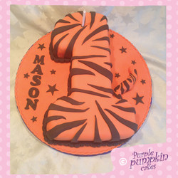 Tigger no1 cake