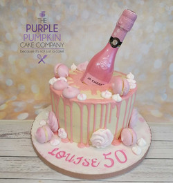 gluten free pink drip with bottle