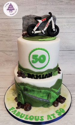2 tier bike 50th