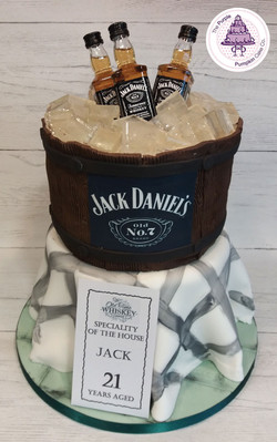 Jack Daniels two-tier