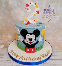 Mouse cake with no 2