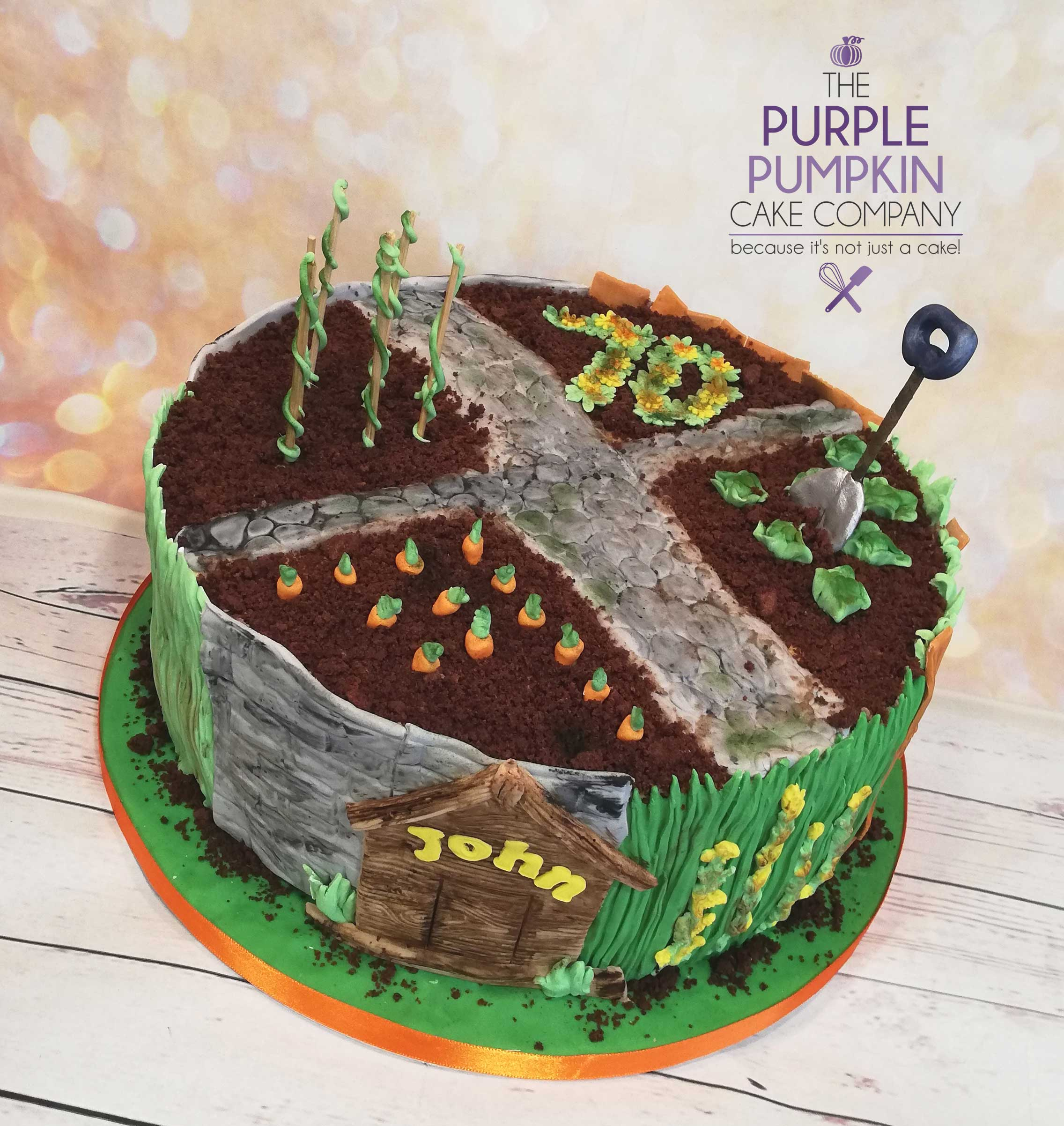 The allotment cake