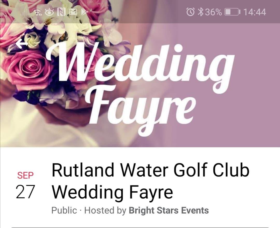 Rutland water golf club Sept 27th