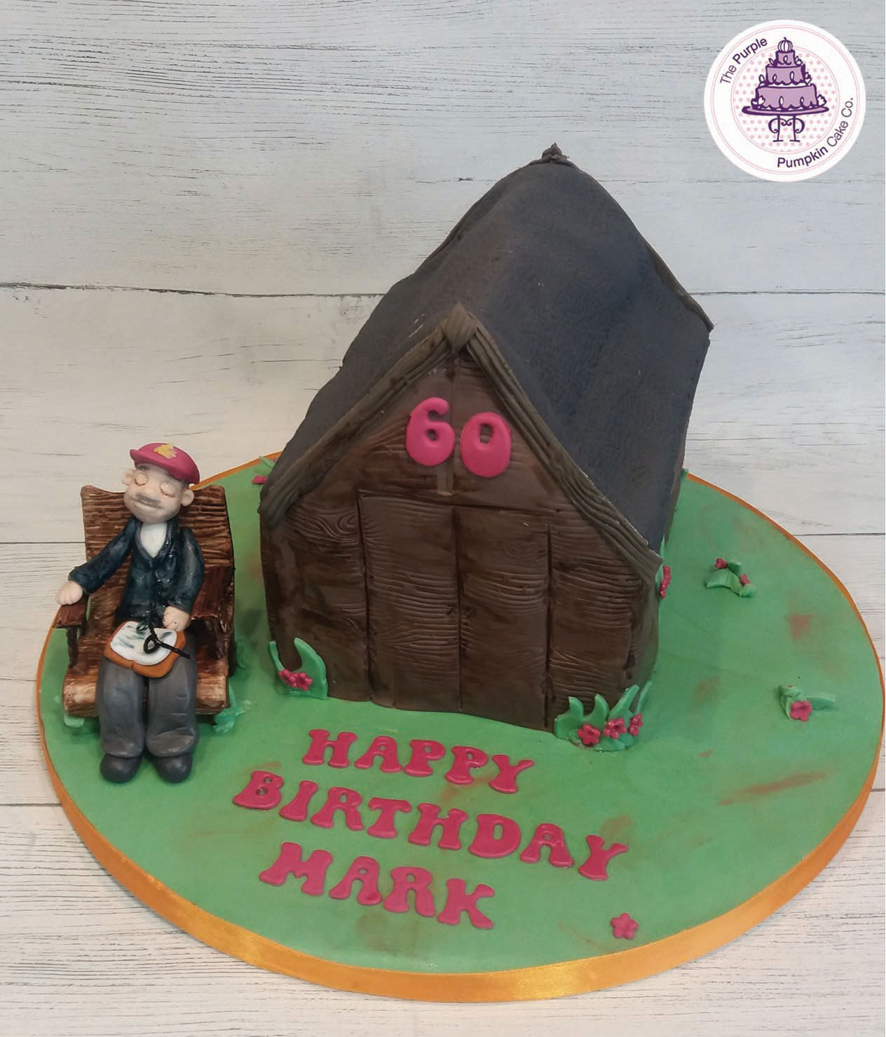 One man and his shed cake