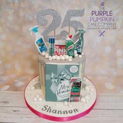 Mrs Hinch birthday cake