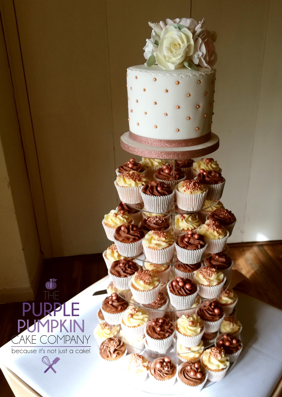 Toft cupcake wedding