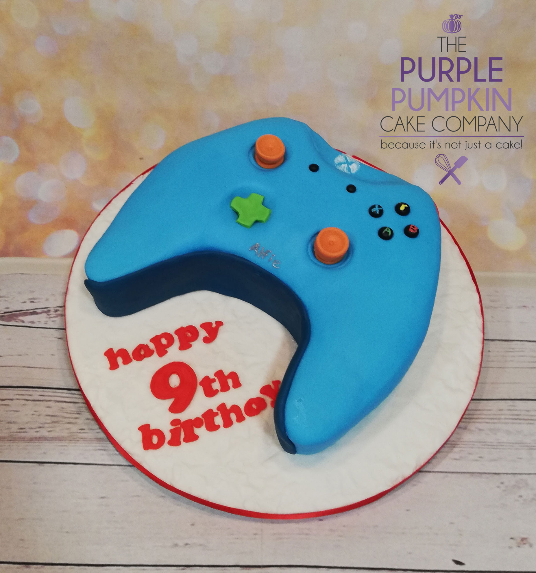 Personalised Xbox controller cake