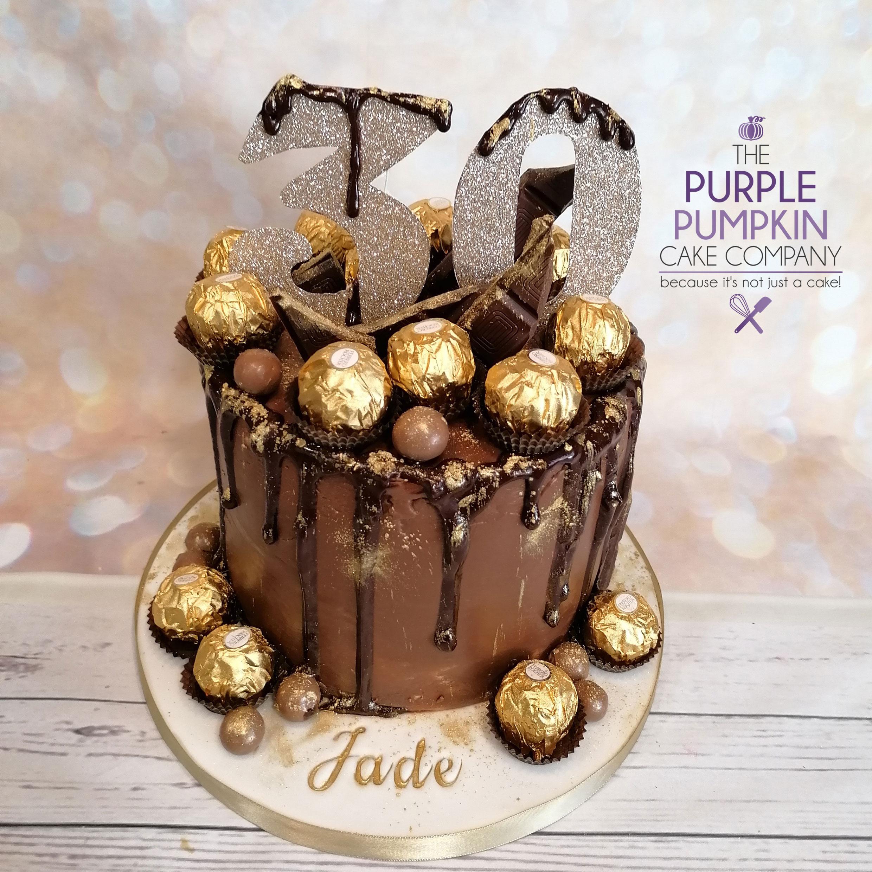Ferraro drip cake