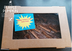fathers day brownie