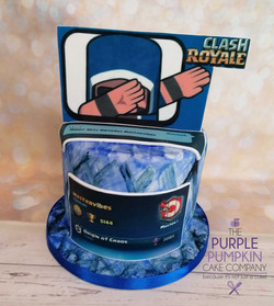 Clash of clans, wizard dab cake