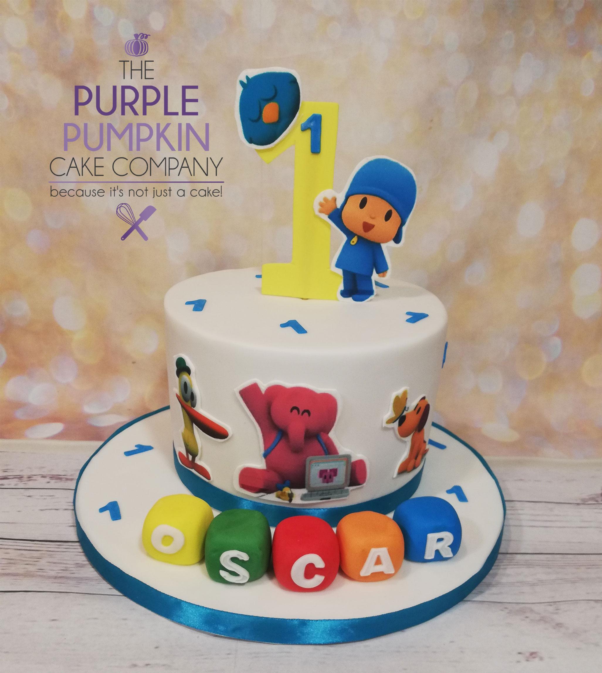 Childrens TV character cake
