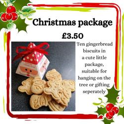 Gingerbread treat box