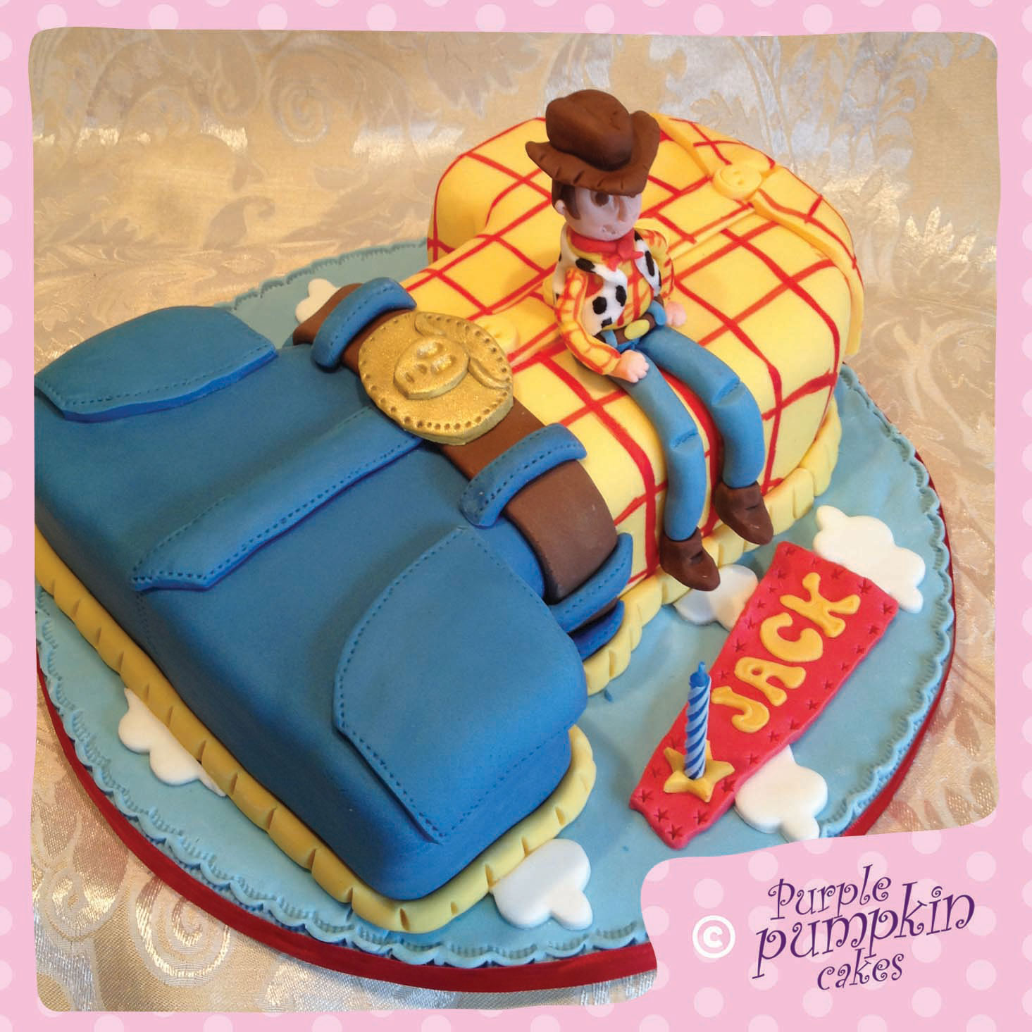 Toy Story Woody number one cake