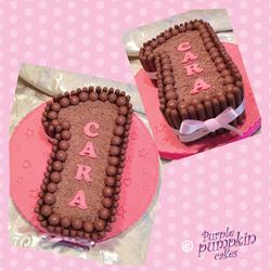 Chocotastic No 1 cake