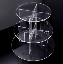 3 tier acrylic stand