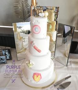 Marvels wedding cake