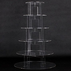 6 tier acrylic stand