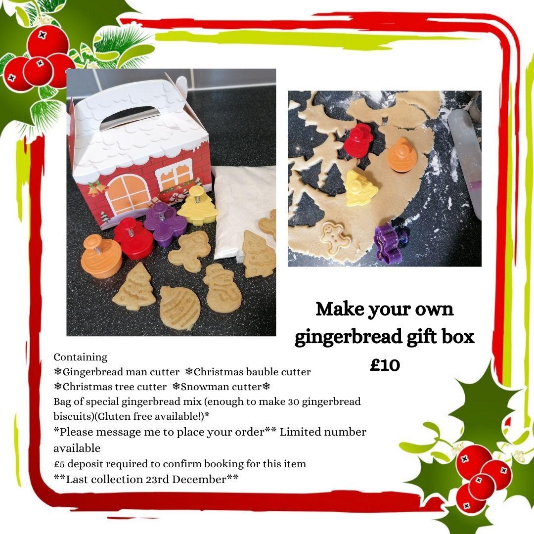 Make your own gingerbread Christmas Kit