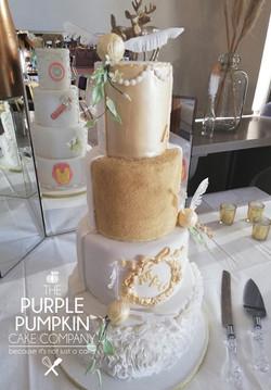 Harry Potter / Marvels wedding cake
